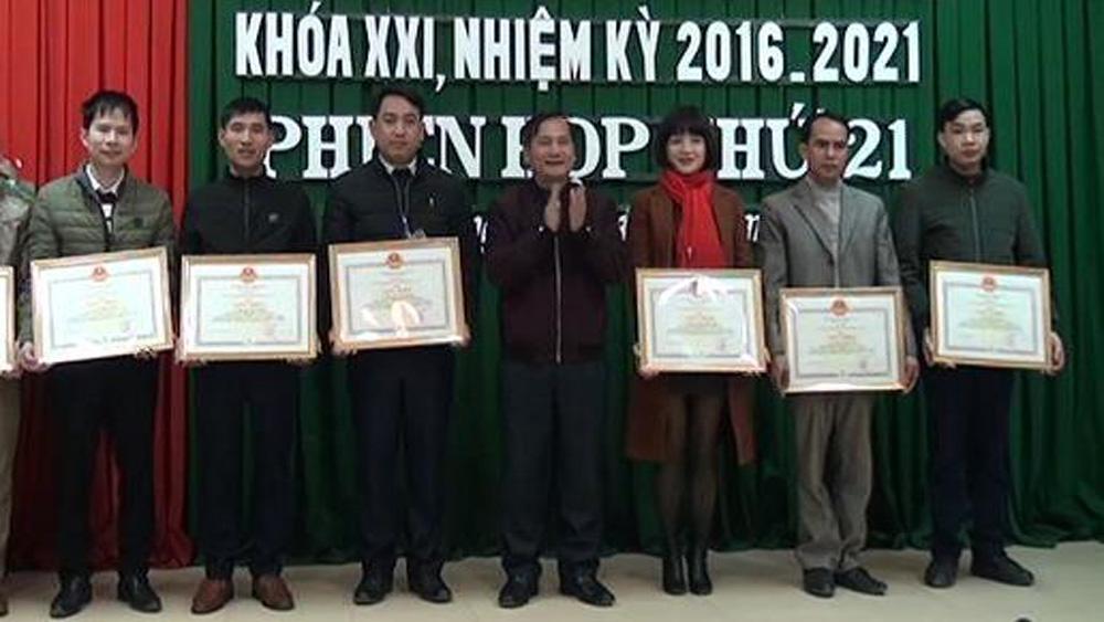 Thường trực HĐND huyện Yên Thế  tổ chức phiên họp thứ 21, khóa XXI