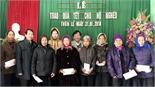 Hội Nhà báo tỉnh:  Tặng 42 suất quà cho gia đình khó khăn