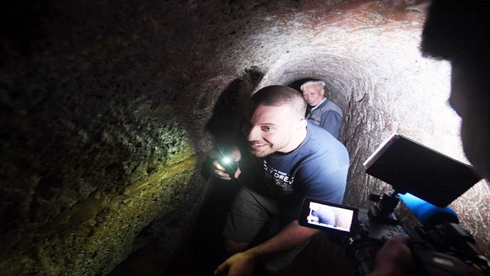 Unearthing history in Vietnam's war tunnels