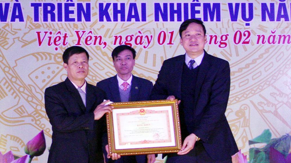 Việt Yên: Xây dựng các phong trào thi đua phù hợp với từng địa phương, đơn vị
