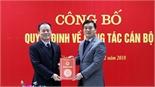 Đồng chí Nguyễn Hoàng Trung giữ chức Giám đốc Sở Ngoại vụ