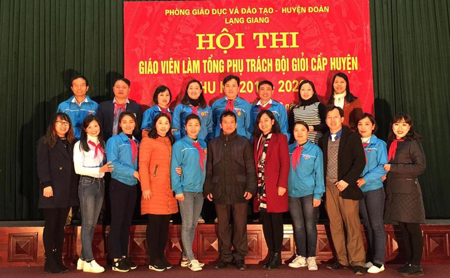 """Hội thi """"Giáo viên làm TPT Đội giỏi"""" huyện Lạng Giang chu kỳ 2018 – 2020"""