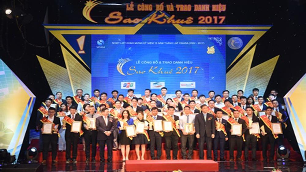 Phát động, bình chọn, danh hiệu, Sao Khuê, 2018