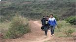 Học sinh vùng cao Tân Sơn chống chọi gió  rét