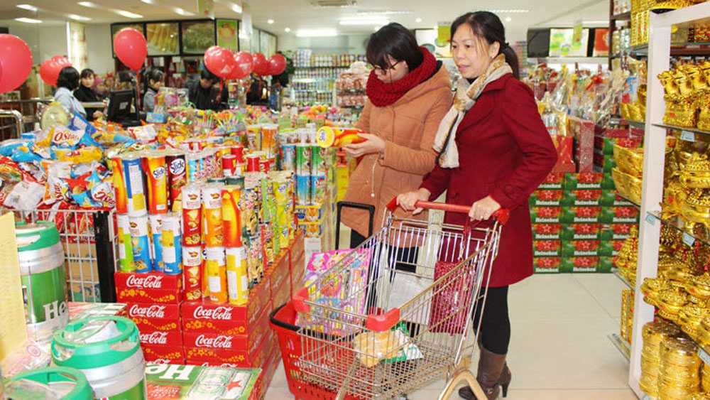 January retail sales up 3% due to growing consumption demand for Tet