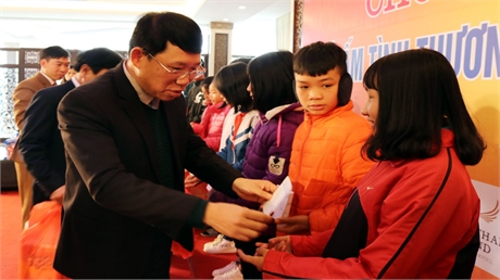 Tết ấm tình thương- Kết nối những tấm lòng nhân ái với trẻ em khó khăn