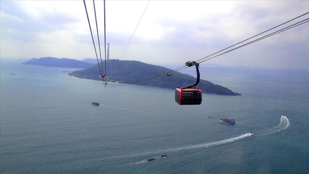 Kiên Giang: Khai trương cáp treo dài nhất thế giới