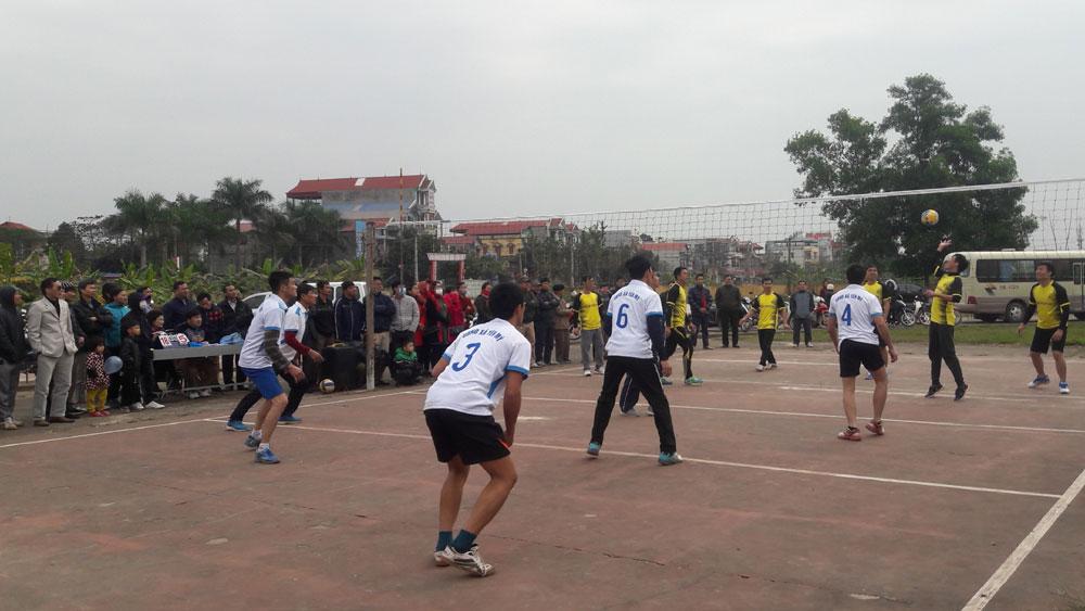 Giải bóng chuyền da nam công nhân viên chức lao động huyện Lạng Giang
