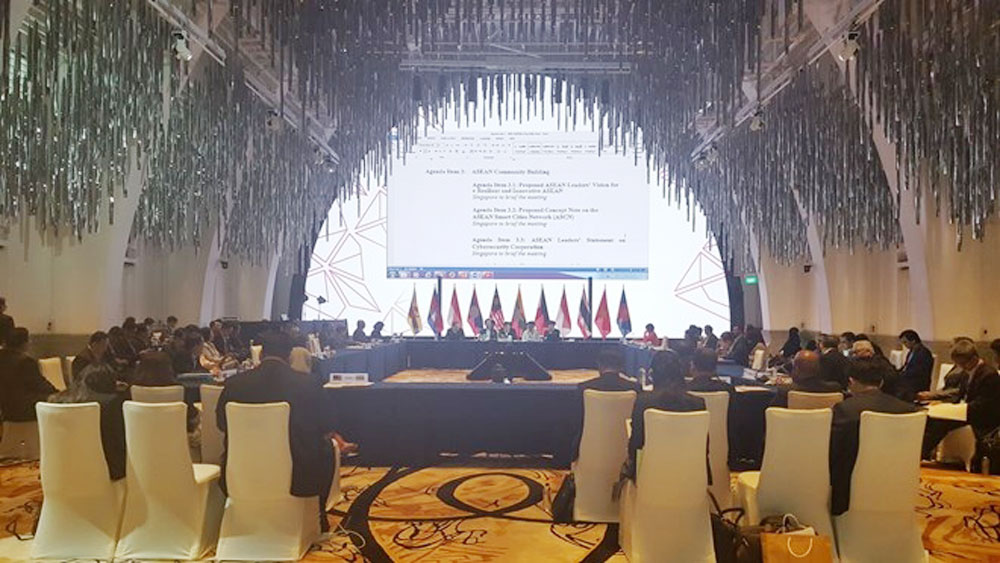 Vietnam attends ASEAN SOM in Singapore