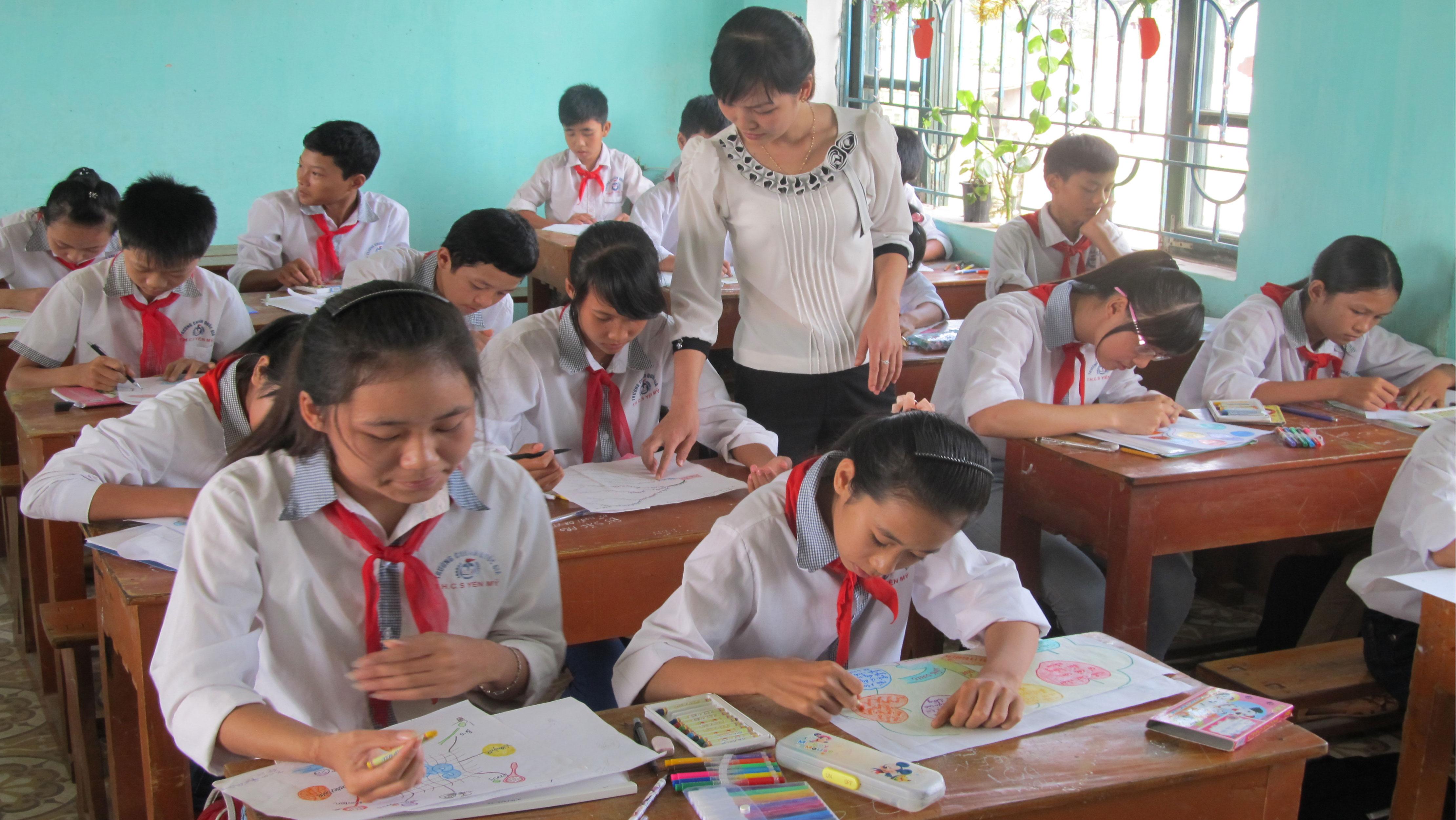 Giáo dục duy trì tốp đầu của tỉnh