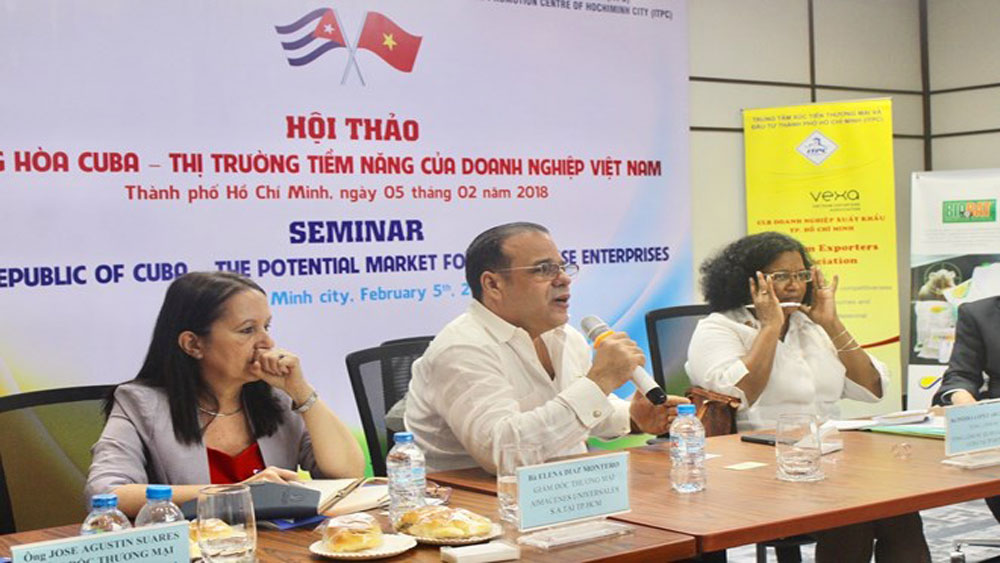 Cuba promoted as potential market for Vietnamese firms