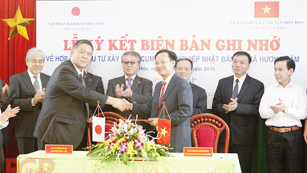 Bac Giang establishes Vietnam – Japan Industrial Cluster