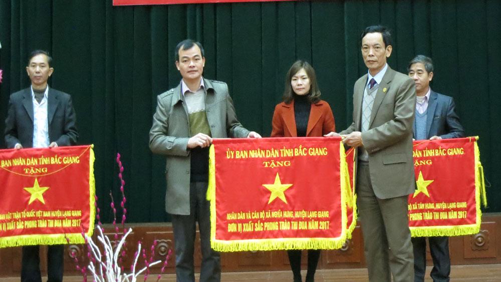 Lạng Giang phát động phong trào thi đua 2018