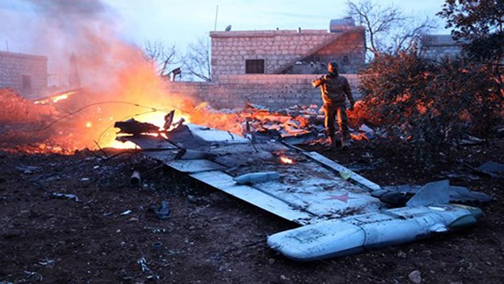 Nga, thi thể, phi công, Su-25, thiệt mạng, Syria, về nước
