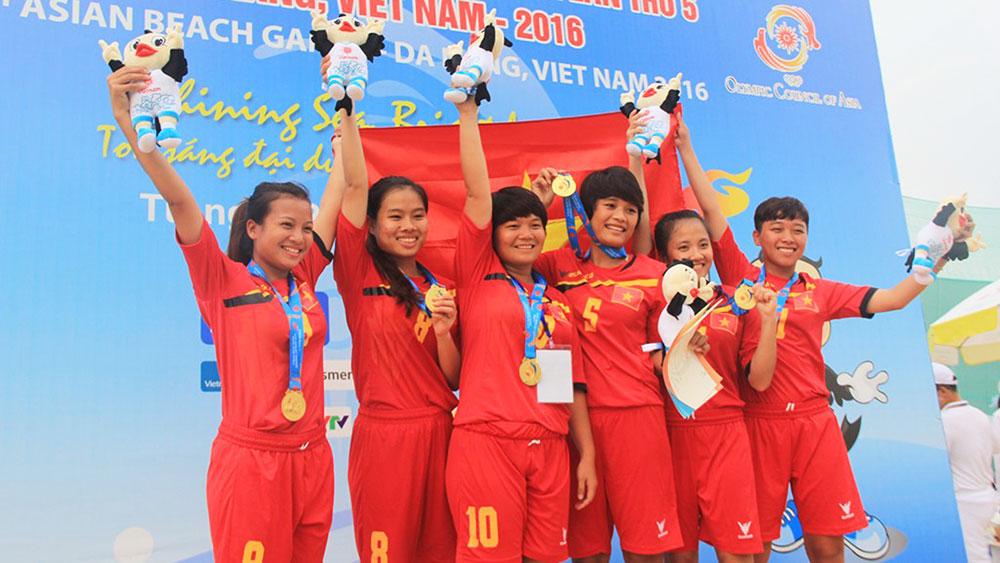 Thể thao Bắc Giang: Dấu ấn trên đấu trường quốc tế