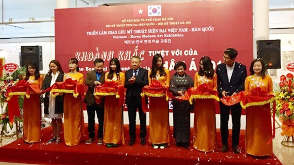 Vietnam – RoK art exhibition kicks off
