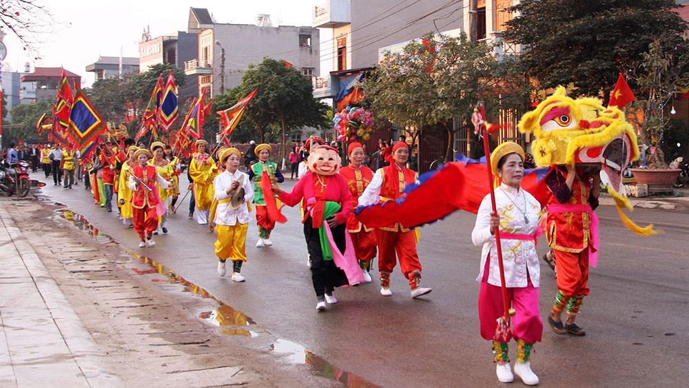 TP Bắc Giang: Gắn quản lý, bảo tồn di tích với lành mạnh hóa lễ hội xuân