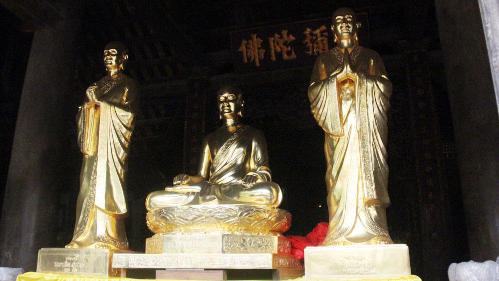 Rước tượng, Trúc Lâm Tam Tổ, chùa Vĩnh Nghiêm