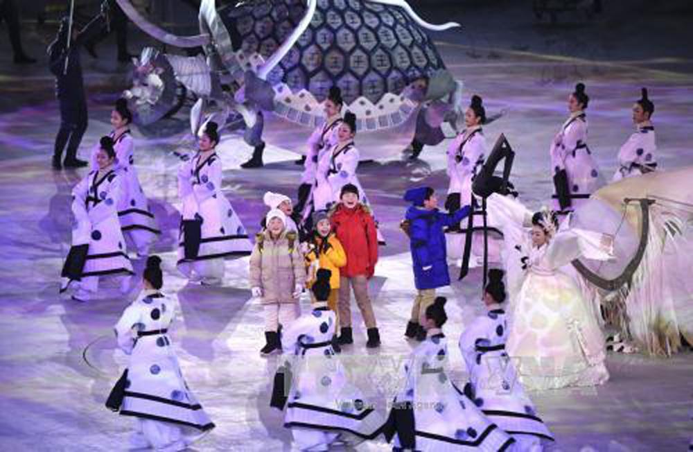 Rực rỡ, khai mạc, Olympic mùa Đông, PyeongChang 2018