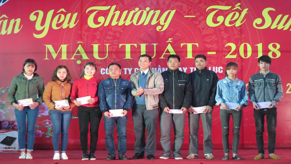 Lạng Giang tổ chức Chương trình Xuân yêu thương