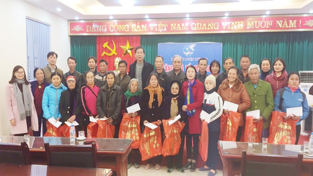 Hiệp Hòa, Hội Liên hiệp phụ nữ, tặng quà Tết