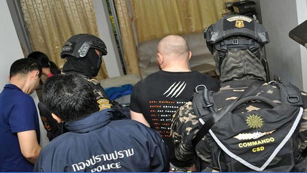 Thái Lan, bắt giữ, trùm tội phạm mạng, toàn cầu