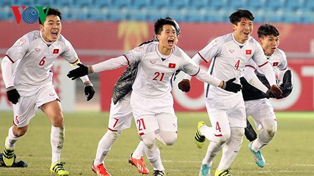 Đội tuyển U23 Việt Nam tạo ra kỷ lục ở trận chung kết Giải vô địch U23 châu Á