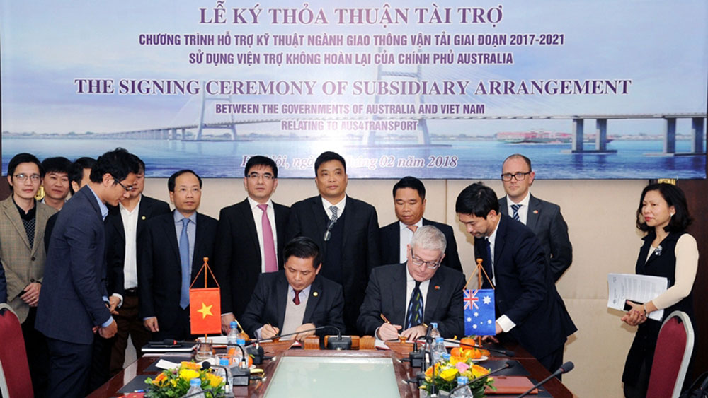 Australia provides US$24 million for Vietnam transport infrastructure