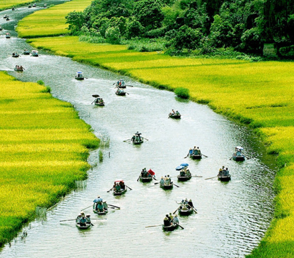 Trang An complex, Landscape Complex, additional waterway, eco-tourism site, scenic boat trip, road route, Lunar New Year