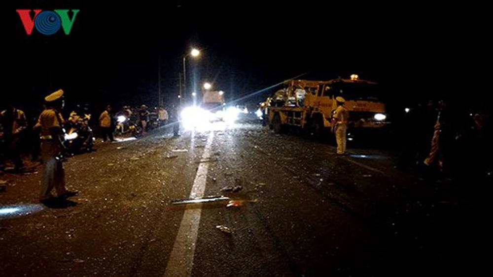 Đồng Nai: Tai nạn liên hoàn, 1 người tử vong, 3 người nguy kịch