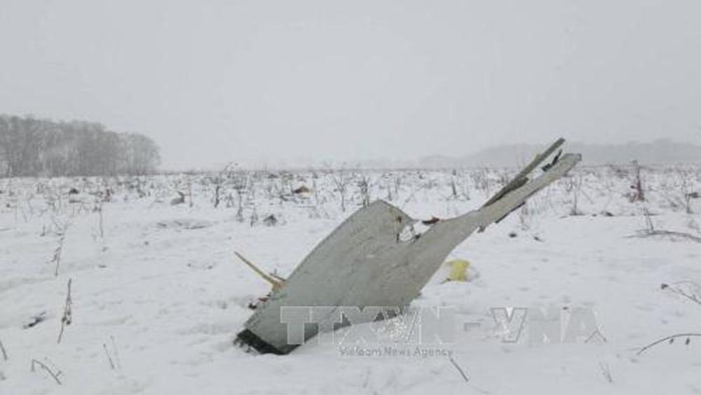 Tìm thấy bộ ghi âm buồng lái vụ rơi máy bay An-148 ở Nga