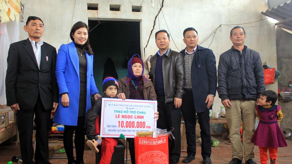 chăm lo, người nghèo, Hội Liên hiệp Thanh niên tỉnh, Thành đoàn Bắc Giang