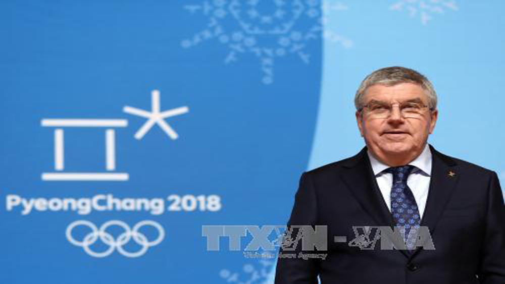Olympic PyeongChang 2018: Chủ tịch IOC sẽ thăm Triều Tiên