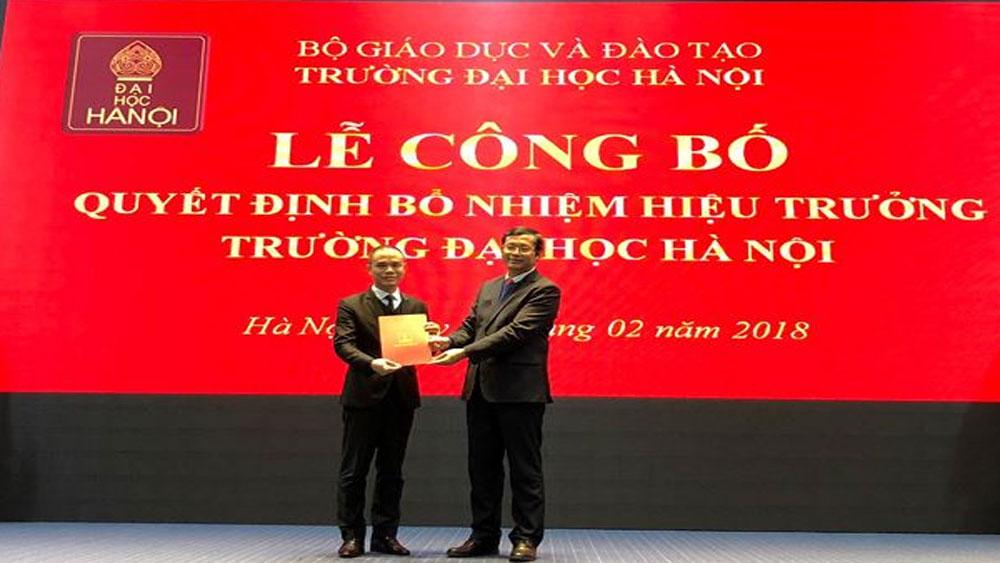 Trường ĐH Hà Nội, hiệu trưởng mới, Nguyễn Văn Trào