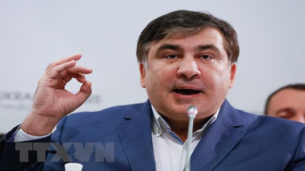 Cựu Tổng thống Gruzia Mikhail Saakashvili bị trục xuất trở lại Ba Lan