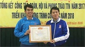 Trần Danh Hưng - Bí thư Đoàn xã năng động