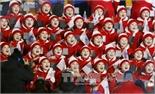 Olympic PyeongChang 2018: Đoàn cổ vũ Triều Tiên gây ấn tượng mạnh tại Hàn Quốc