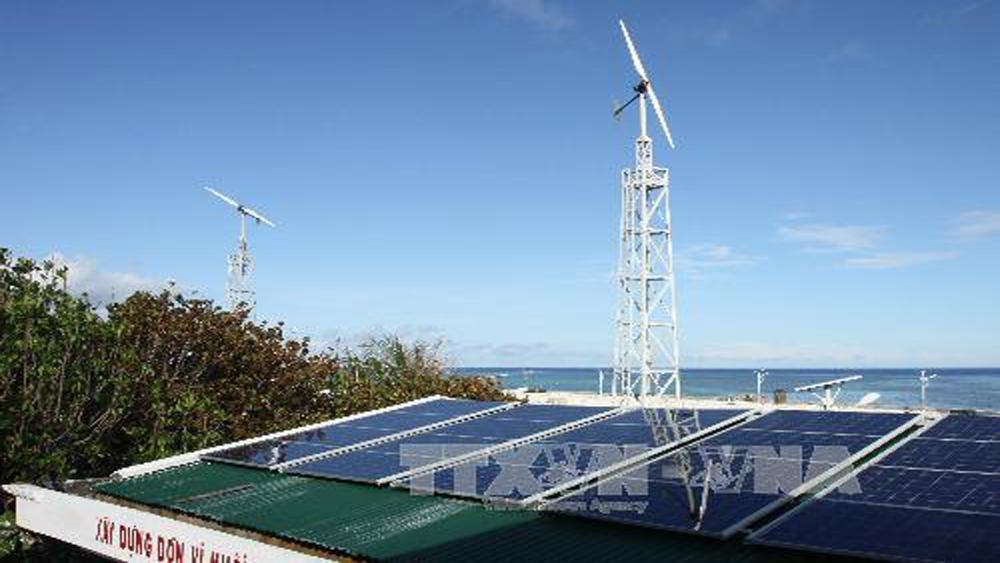 EVN, nâng cấp, hệ thống, năng lượng sạch, quần đảo, Trường Sa