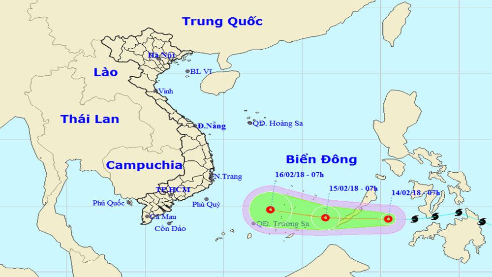Bão Sanba suy yếu thành áp thấp nhiệt đới