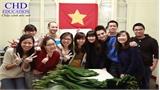 Du học sinh Việt rộn ràng đón Tết