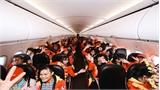 Chuyến bay miễn phí đưa 150 công nhân, sinh viên nghèo về quê ăn Tết