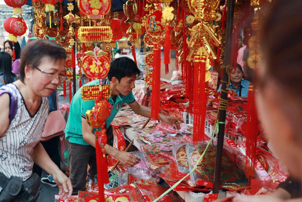 Tết, Mậu Tuất, châu Á, trang trí