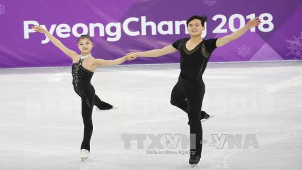 Olympic PyeongChang 2018: Cặp vận động viên Triều Tiên được cổ vũ nhiệt tình