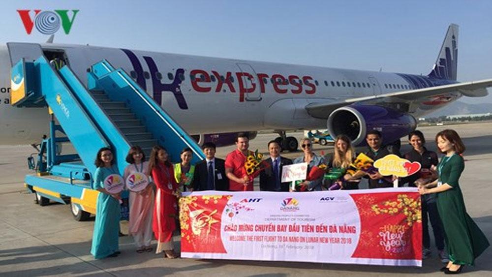 Đón 180 khách du lịch quốc tế đầu tiên tới xông đất Đà Nẵng