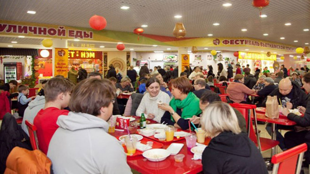 Moscow people excited with Vietnam's Tet