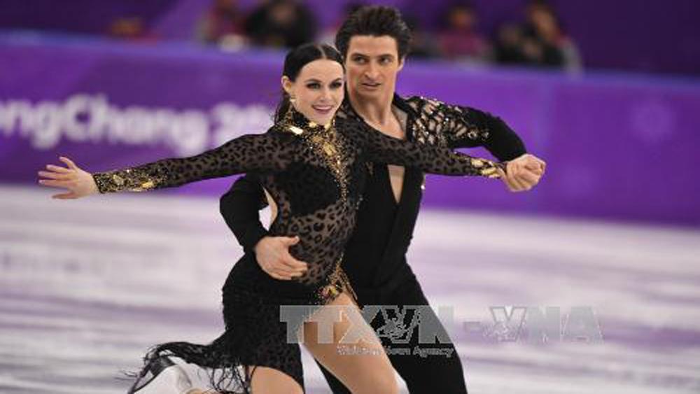 Olympic PyeongChang 2018: Vận động viên Canada lập kỷ lục khiêu vũ trên băng