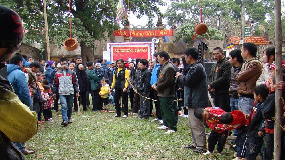 Tổ chức lễ hội đình, chùa Giã