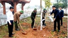 Nhiều địa phương phát động Tết trồng cây