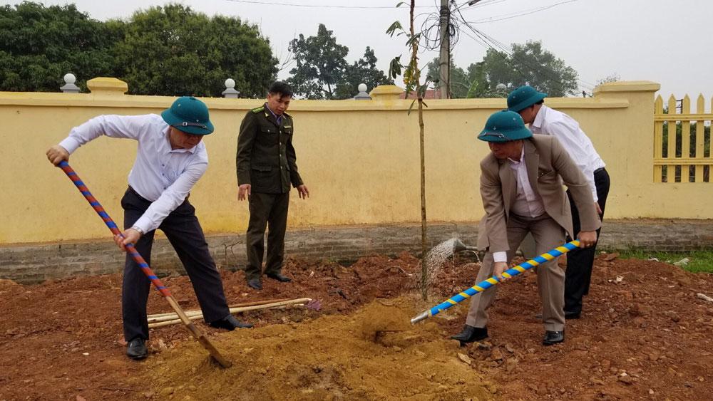 Lạng Giang phấn đấu trồng 200 nghìn cây phân tán