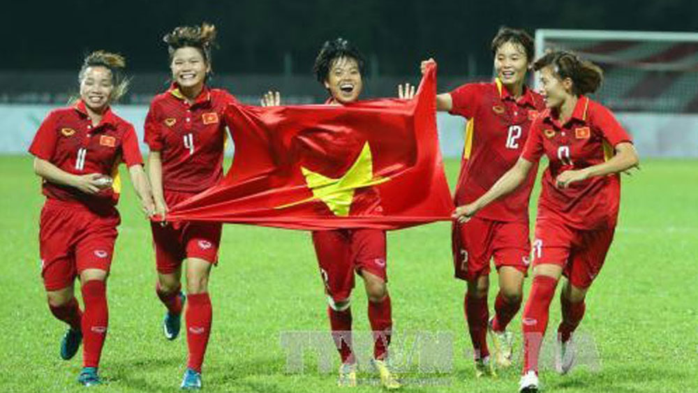 VFF, ambitious goals, 2018, Vietnamese footballers, new missions, Asian Games, AFF Suzuki Cup, final round, AFC Women's Asian Cup